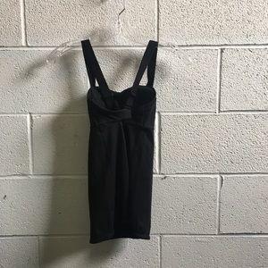 lululemon athletica Tops - Lululemon black cross strap tank size 2 58377